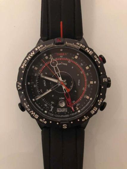 Relógios Timex Masculino T2p140 Temp Bussok E Tábua De Maré