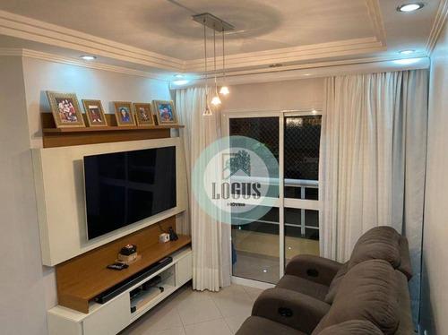 Imagem 1 de 22 de Apartamento Com 3 Dormitórios À Venda, 97 M² Por R$ 598.000,00 - Olímpico - São Caetano Do Sul/sp - Ap1845