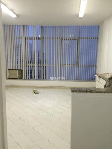 Sala À Venda, 38 M² Por R$ 190.000,00 - Centro - Niterói/rj - Sa1991