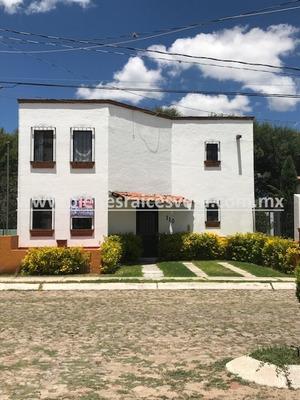 Casa En Renta Irma En Fracc Residencial Haciendas De Tequis.