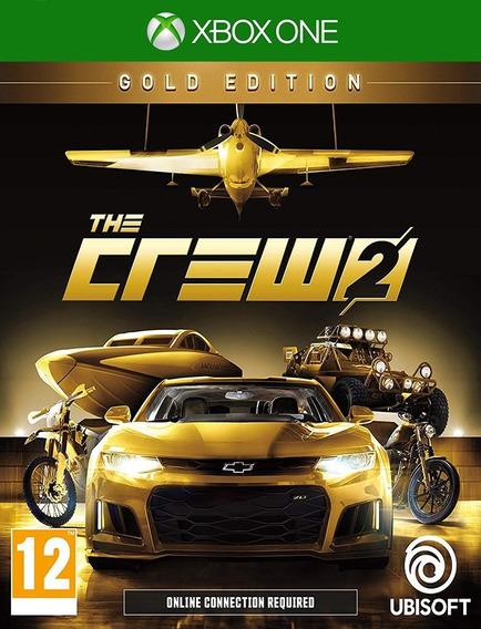 The Crew 2 Gold Edition Xbox One - Original ( 25 Dígitos )