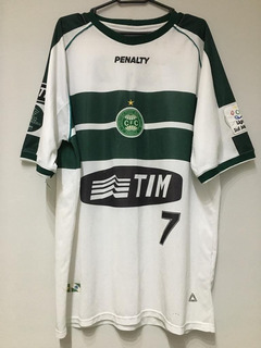 Camisa Coritriba Penalty #7 Usada Em Liga Sul Minas 2001
