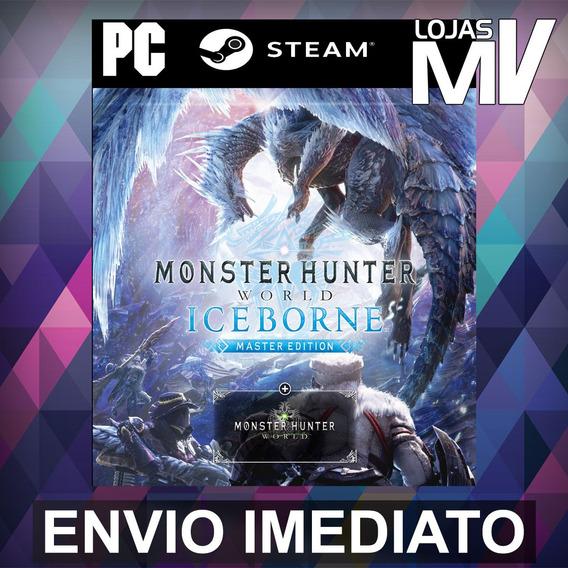 Monster Hunter World: Iceborne Master Pc Steam Gift Presente