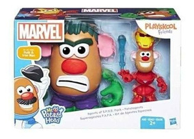 Brinquedo Boneco Sr Batata Hulk E Homem De Ferro E1750
