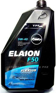 Aceite Ypf Elaion 5w40 X 4 Litros 2 Bidones Total 8 Litros
