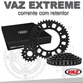 Kit Relação Com Retentor Honda Cg 160 15x44 428h Vaz