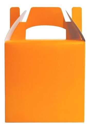 Imagen 1 de 10 de Cajita Feliz 1 De Colores X 100u Packaging Souvenir Cfz1