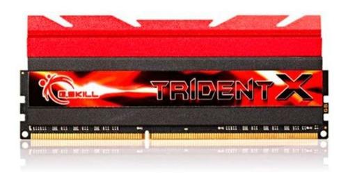 Imagem 1 de 1 de Memoria G.skill Trident X 16gb (4x4gb) Ddr3 2400