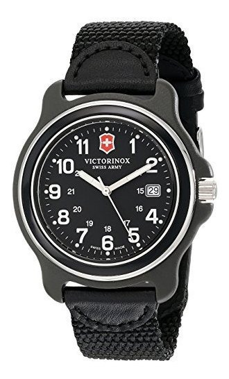 Reloj De Hombre Victorinox 249087 Negro Acero Inoxidable