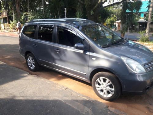 Nissan 7 Lugares Grand Livina 2014 1.8 Sl Flex Aut. 5p