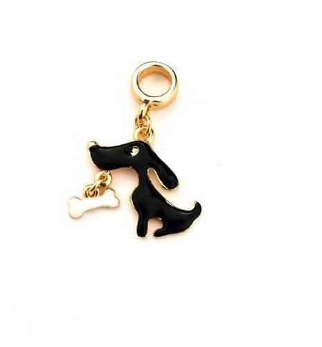 Imagem 1 de 1 de Berloque Cachorro Com Osso - Bd_122