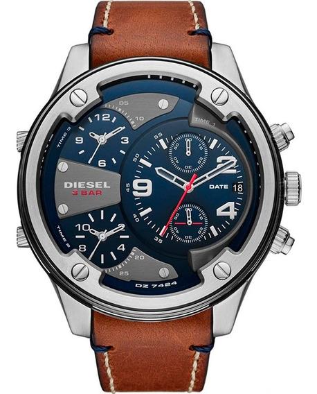 Relógio Diesel Masculino Boltdown Dz7424/0mn