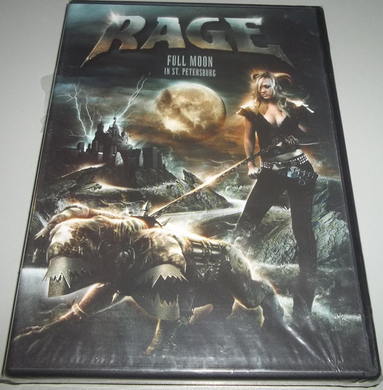 Rage (ger) - Dvd Full Moon In St Petersburg (lacrado)