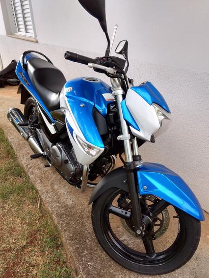 Suzuki Inazuma 250cc Azul E Branca