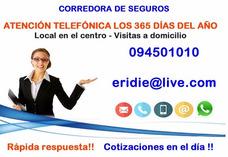 Corredor De Seguros - Todos Los Días 094501010 Sms Wathsapp