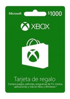 Tarjeta Xbox $5,000 Oferta!!!