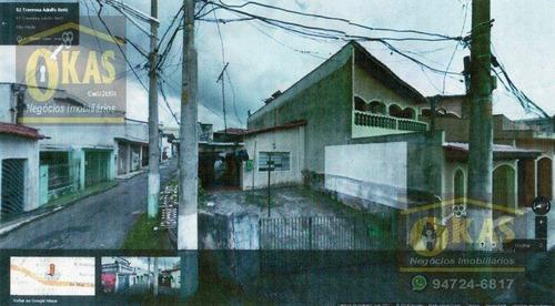 Imagem 1 de 3 de Casa Com 1 Dormitório À Venda, 60 M² Por R$ 250.000,00 - Vila Nitro Operária - São Paulo/sp - Ca0064