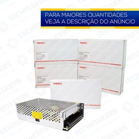 Kit Fonte Chaveada Bivolt - 12v 20a 250w - 05 Unidades
