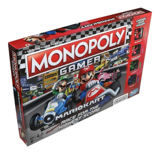 Monopoly Gamer Nintendo Mario Kart Niños Adultos En Español