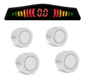 Sensor De Re 4 Sensores Universal Display Estacionar