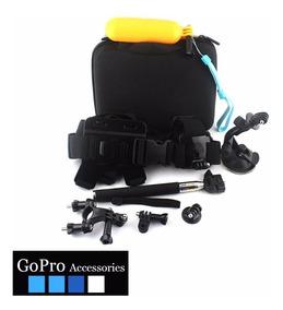 Kit Acessórios Gopro 11 Em 1 Com Case G Go Pro Hero 2 3 4 5