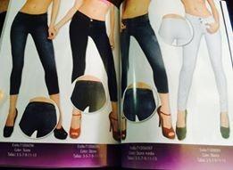 Pantalon Mezclilla Jogger Pezcador Fashion Moda Barato Mujer