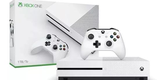 Xbox One 1t Com 2 Controles E 5 Jogos