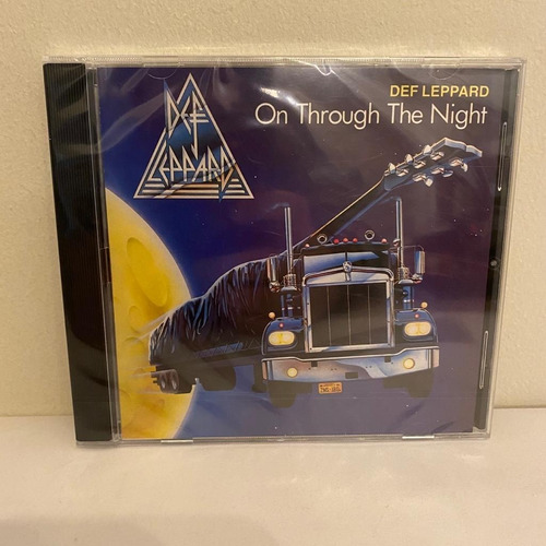 Def Leppard  On Through The Night Cd Nuevo Europe