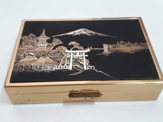 Antiga E Rara Caixa Musical Compact -clover - Japonesa