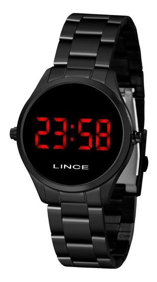 Relógio Lince Feminino Digital Clássico Preto Original