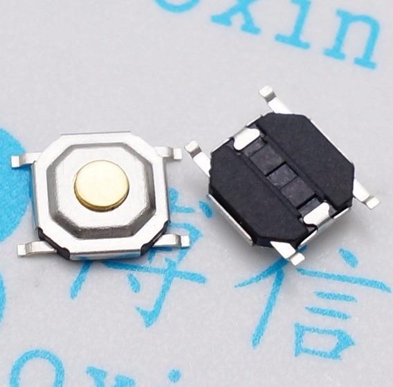 Botao 4 Pino Interruptor Micro Switch Smd 50pçs