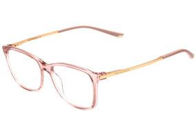 1c86acc89 Ana Hickmann Ah 6264 - Óculos De Grau T03 Rosa Translúcido E