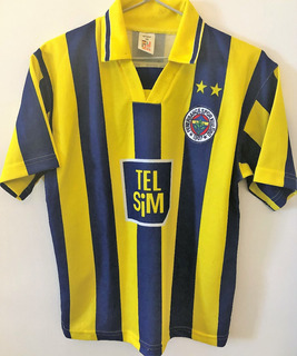 Camisa Fenerbahce 2000/01 Revivo #10 Rara