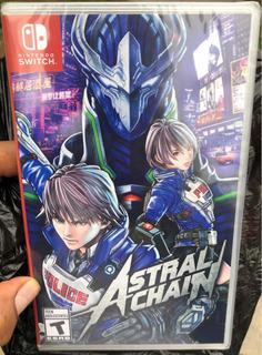 Astral Chain Para Nintendo Switch Nuevo Y Sellado - Envíos