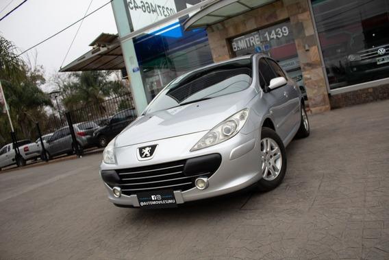 Peugeot 307 Xs 5p 1.6 16v Nafta 2010 Plateado