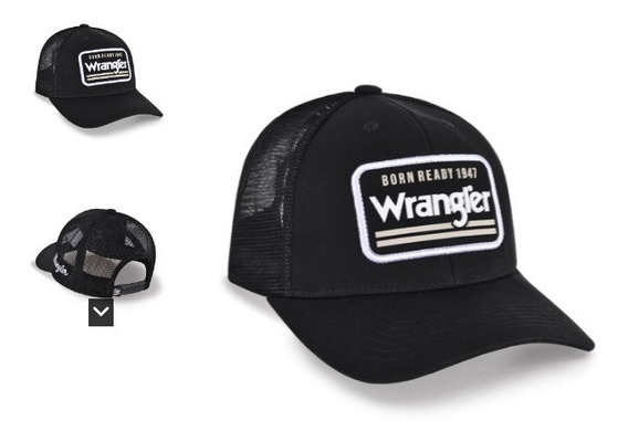 Boné Wrangler Black
