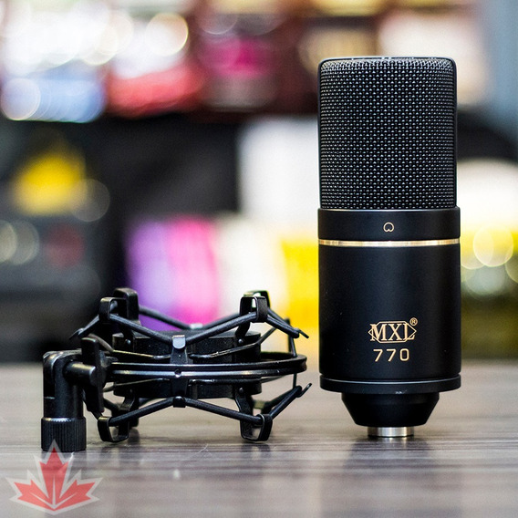 Microfone Condenser Mxl 770 - Nf E Garantia -