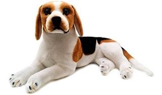 Bretaña Beagle | 17 Pulgadas De Perro Beagle Grande De Peluc
