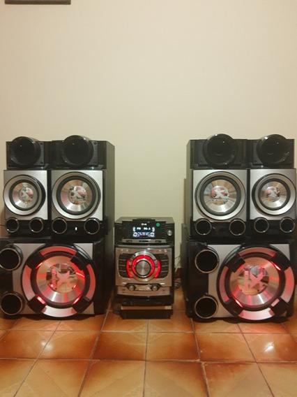 Som LG Cm9520 Metal Bass. 1700 W(rms) Completo