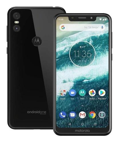 Smartphone Motorola Moto One 64gb Tela 5.9'' 4gb Ram