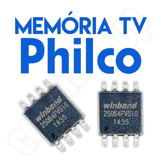 Memoria Flash Tv Philco Ph24d21d Led (a) Chip Gravado