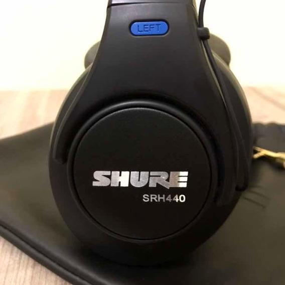 Shure Srh440 Fone De Ouvido Profissional