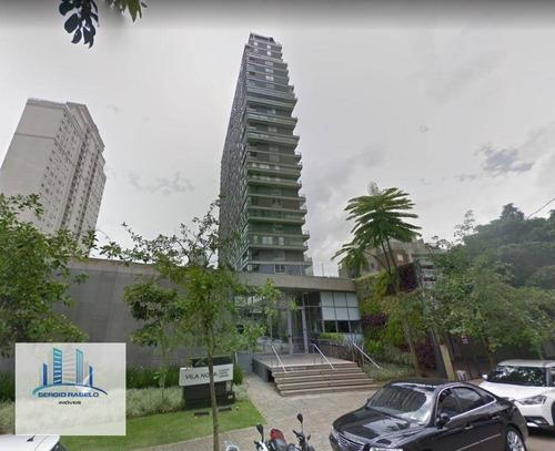 Imagem 1 de 8 de Apartamento Com 1 Dormitório À Venda, 76 M² Por R$ 1.578.000,00 - Vila Nova Conceição - São Paulo/sp - Ap3567