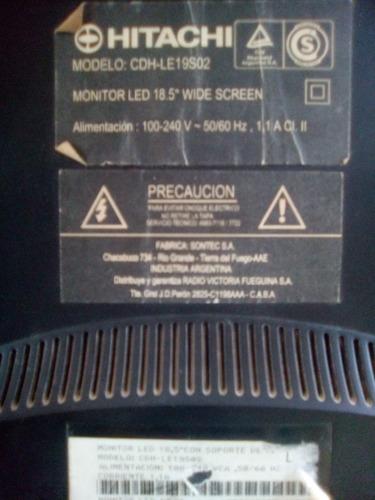 Monitor Hitachi Modelo Cdh-le19s02