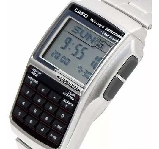 Relógio Casio Dbc-32d-1a Databank 25 Fones Calculadora Origi