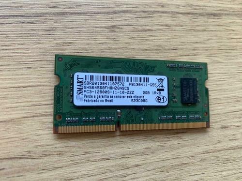 Imagem 1 de 1 de Memória Ram Ddr3 Notebook 2gb 1x2gb Smart