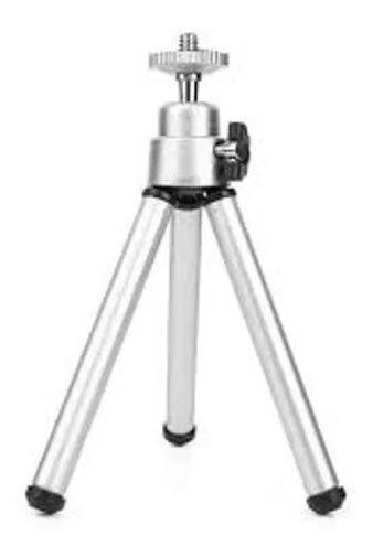 Tripé Webcam P/ Logitech C920 Pro Cromado