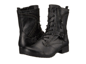 Botas Cuero G By Guess Negras Larga