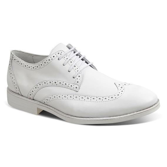 Sapato Masculino Sandro Moscoloni Doctor Comfort Branco