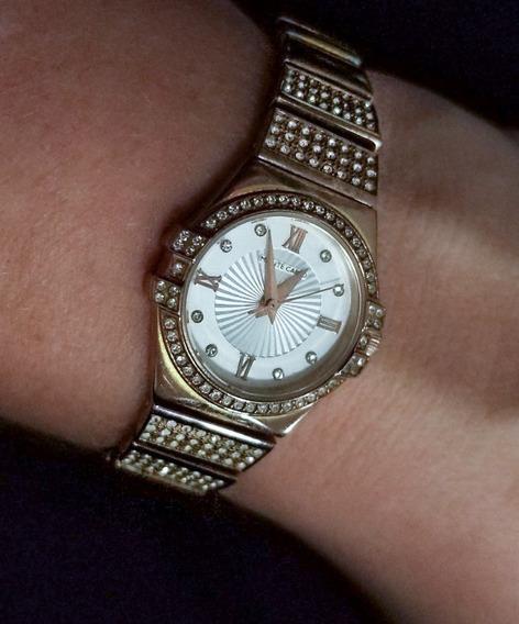 Relógio Monte Carlo Rosé Com Diamantes